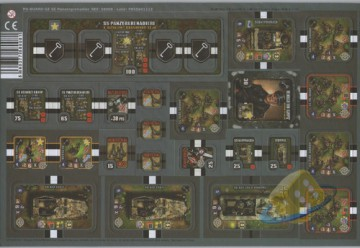 Heroes of Normandie: Panzergrenadier Punch Board