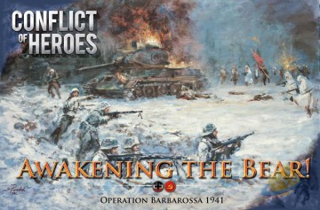 Conflict of Heroes: Awakening the Bear - Russia 1941-42 - second edition