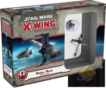 Star Wars: X-Wing Miniatures Game - Rebel Aces