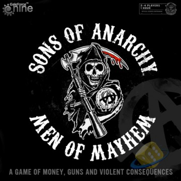 Sons of Anarchy Boardgame: Men of Mayhem