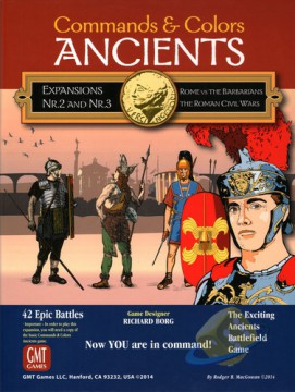 Commands  a  Colors: Ancients - Expansion Pack 2 and 3