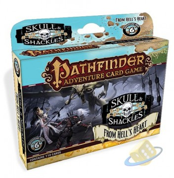 Pathfinder Adventure Card Game: Skull & Shackles - From Hells Heart
