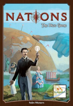 Nations : The Dice game