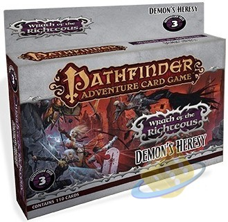 Pathfinder Adventure Card Game: Wrath of the Righteous - Demon´s Heresy