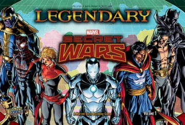 Legendary: A Marvel Deck Building Game - Secret Wars Vol.1