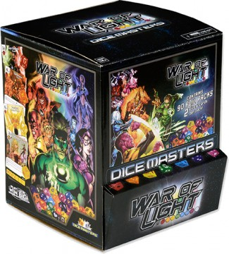 DC Comics Dice Masters: War of Light Booster