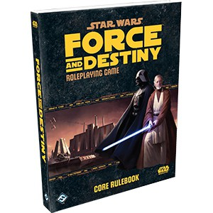 Star Wars - Force and Destiny RPG Core Rulebook