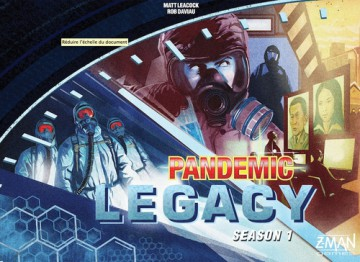 Pandemic: Legacy Season 1 (Blue) - anglicky