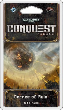 Warhammer 40.000: Conquest (LCG) - Decree of Ruin