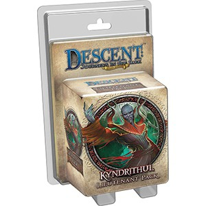 Descent: Journeys in the Dark (2nd. Ed.) - Kyndrithul Lieutenant Pack