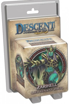 Descent: Journeys in the Dark (2nd. Ed.) - Zarihell Lieutenant Pack