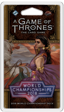 A Game of Thrones LCG (2nd) - 2018 World Championships Deck
