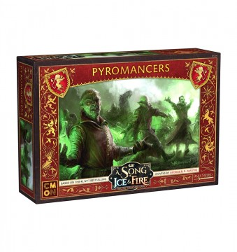 A Song of Ice & Fire: Tabletop Miniatures Game Lannister Pyromancers
