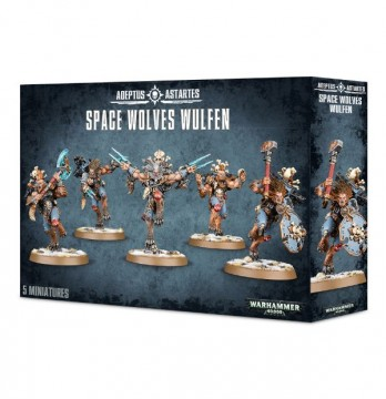 Adeptus Astartes: Space Wolves Wulfen