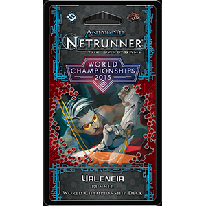 Android: Netrunner LCG: 2015 World Champion Runner Deck