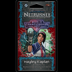 Android: Netrunner LCG: 2017 World Champion Runner Deck
