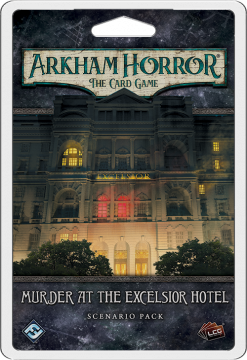 Arkham Horror LCG: The Card Game – Murder at the Excelsior Hotel: Scenario Pack