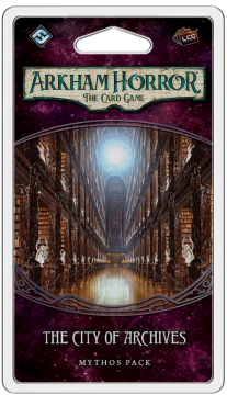 Arkham Horror: The Card Game – The City of Archives: Mythos Pack