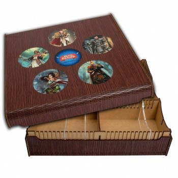 Blackfire Card Crate - Hero Realms