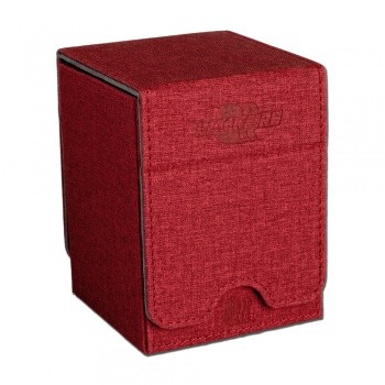 Blackfire Convertible Premium Deck Box Single Vertical 100+ Standard Size Cards - Red