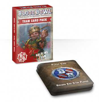 Blood Bowl Halfling team Card Pack