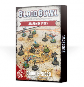 Blood Bowl Lizardmen Pitch