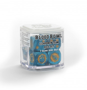 Blood Bowl Lizardmen Team Dice Set (kostky)