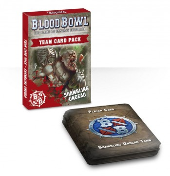 Blood Bowl Shambling Undead Card Pack