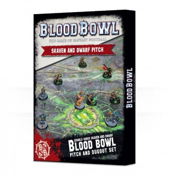 Blood Bowl Skaven and Dwarf Pitch (hřiště)