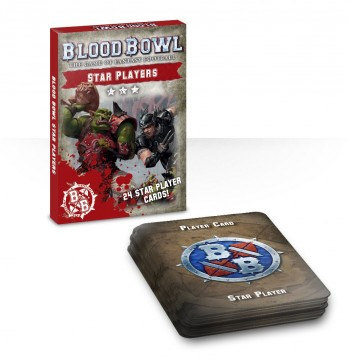 Blood Bowl - Star Players Card Pack