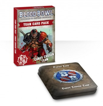 Blood Bowl Team Card Pack - Chaos Chosen Team
