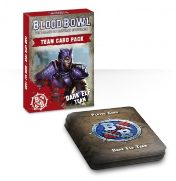 Blood Bowl Team Card Pack - Dark Elf Team