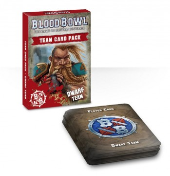 Blood Bowl Team Card Pack - Dwarf Team