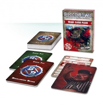 Blood Bowl Team Card Pack - Orc Team