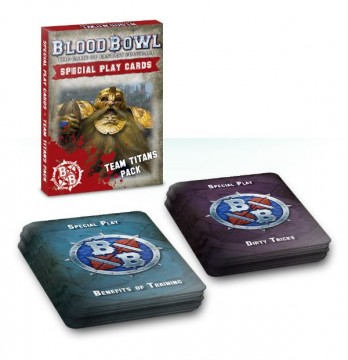 Blood Bowl - Team Titans Special Play Card Pack