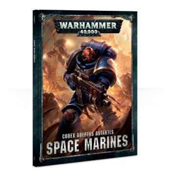 Codex: Space Marines 2017 (kniha)
