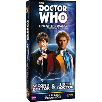 Doctor Who: Time of the Daleks - Second Doctor and Sixth Doctor