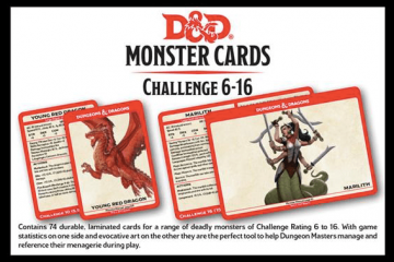 Dungeons & Dragons RPG: Monster Card Deck Levels 6-16 (74)