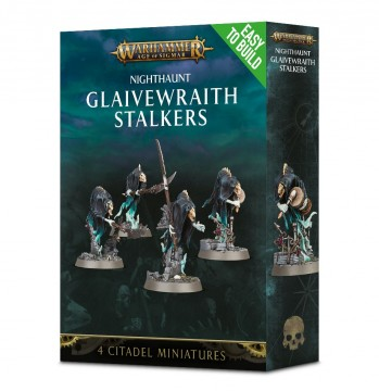 Easy To Build: Nighthaunt Glaivewraith Stalkers
