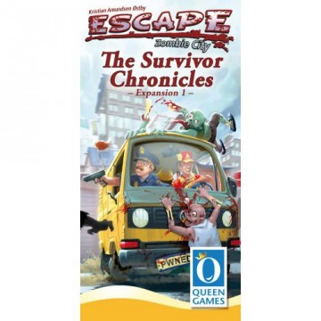Escape: Zombie City – Expansion 1 – The Survivor Chronicles