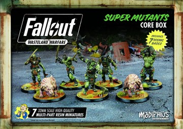 Fallout: Wasteland Warfare Super Mutants core box