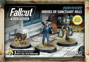 Fallout: Wasteland Warfare Survivors Heroes of Sanctuary Hills