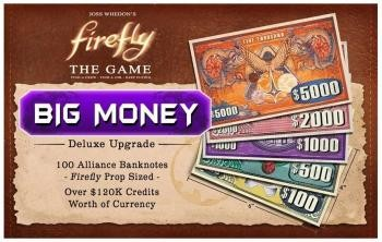 "Firefly: The Game -  ""Big Money"" Currency Upgrade"
