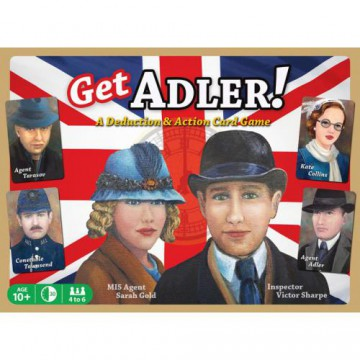 Get Adler! Deduction Card Game