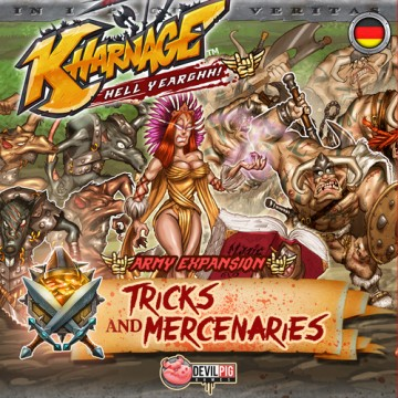 Kharnage: Tricks & Mercenaries – Army Expansion