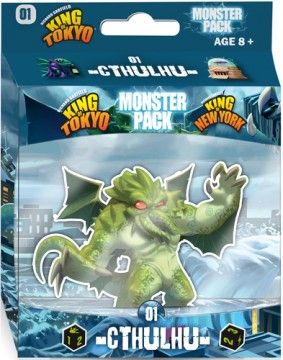 King of Tokyo / King of New York- Monster Pack: Cthulhu