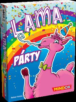 MindOK Lama párty krabička obal