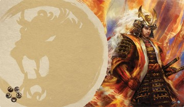 Legend of the Five Rings: The Card Game - podložka Right Hand of the Emperor (Lion Clan)