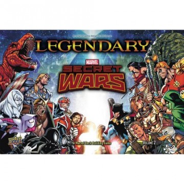 Legendary: A Marvel Deck Building Game - Secret Wars Vol.2