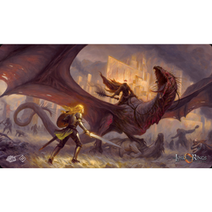 Lord of the Rings LCG: The Card Game - The Flame of the West Playmat (herní podložka)